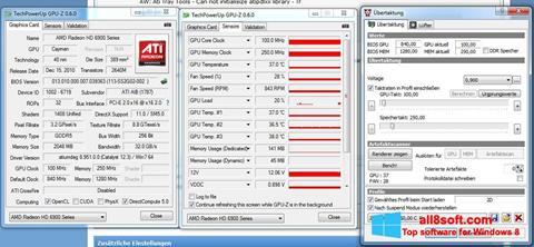 Снимка на екрана ATI Tray Tools за Windows 8