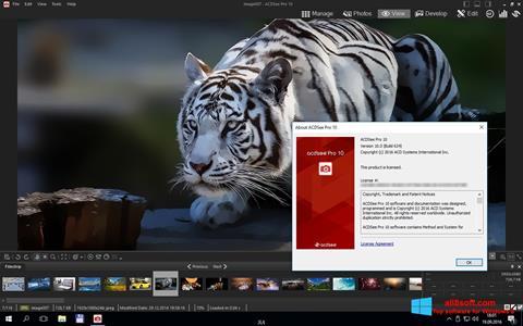 Снимка на екрана ACDSee Pro за Windows 8