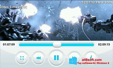 Снимка на екрана BSPlayer за Windows 8