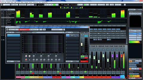 Снимка на екрана Cubase за Windows 8