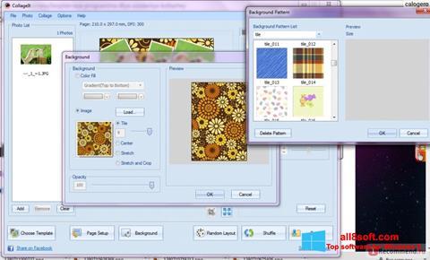 Снимка на екрана CollageIt за Windows 8