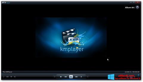 Снимка на екрана KMPlayer за Windows 8