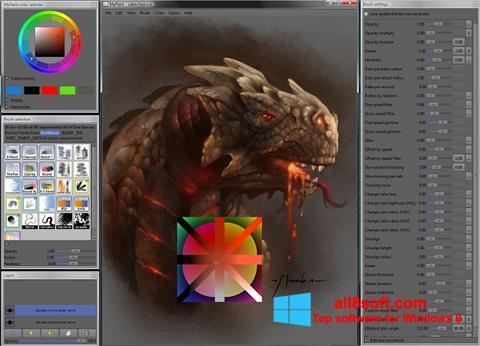 Снимка на екрана MyPaint за Windows 8
