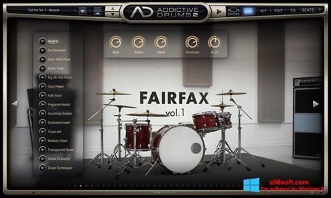 Снимка на екрана Addictive Drums за Windows 8