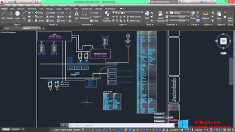 Снимка на екрана AutoCAD Electrical за Windows 8