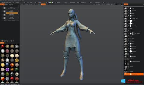 Снимка на екрана 3D-Coat за Windows 8