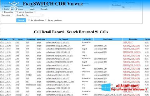 Снимка на екрана CDR Viewer за Windows 8