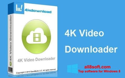Снимка на екрана 4K Video Downloader за Windows 8