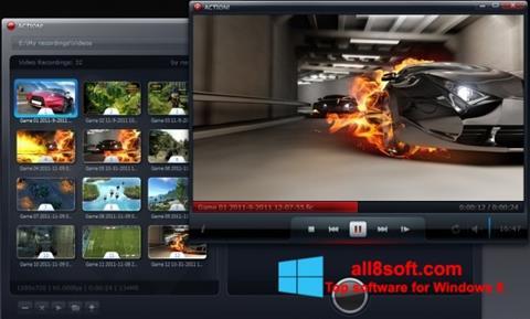 Снимка на екрана Action! за Windows 8