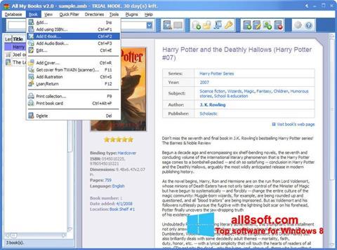 Снимка на екрана All My Books за Windows 8