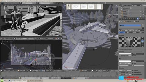 Снимка на екрана Blender за Windows 8