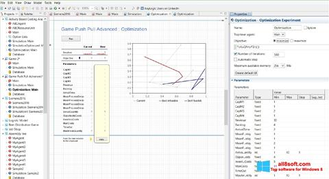 Снимка на екрана AnyLogic за Windows 8