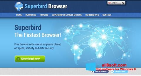 Снимка на екрана Superbird за Windows 8