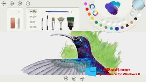 Снимка на екрана Fresh Paint за Windows 8