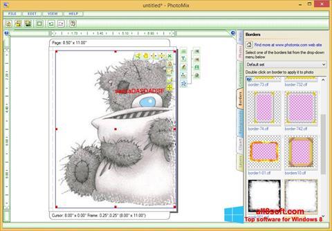 Снимка на екрана PhotoMix Collage за Windows 8