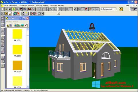 Снимка на екрана Arcon за Windows 8