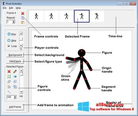 Снимка на екрана Pivot Animator за Windows 8