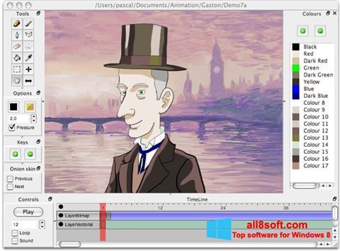 Снимка на екрана Pencil за Windows 8