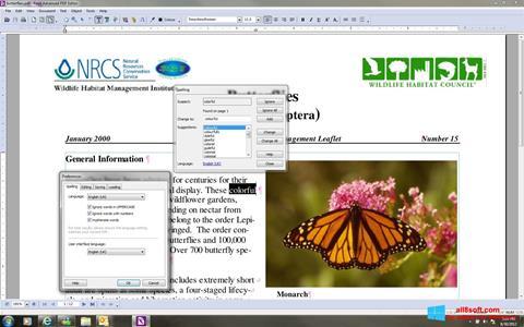 Снимка на екрана Foxit Advanced PDF Editor за Windows 8