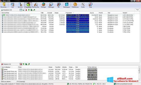 Снимка на екрана eMule за Windows 8