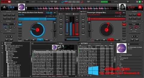 Снимка на екрана Virtual DJ за Windows 8