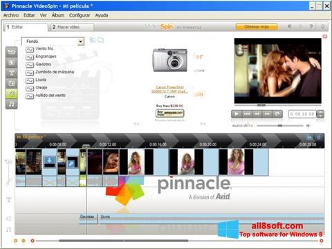 Снимка на екрана Pinnacle VideoSpin за Windows 8