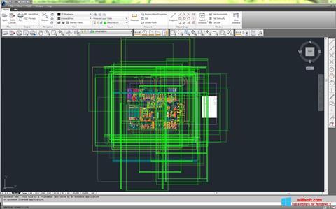 Снимка на екрана DWG TrueView за Windows 8