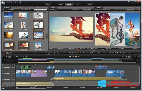 Снимка на екрана Pinnacle Studio за Windows 8