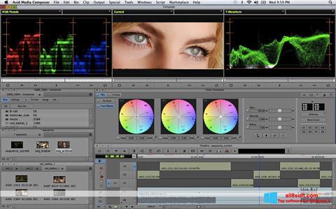Снимка на екрана Avid Media Composer за Windows 8