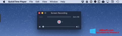 Снимка на екрана QuickTime за Windows 8