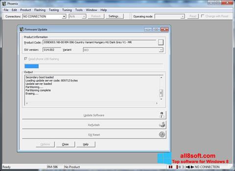 Снимка на екрана Phoenix за Windows 8
