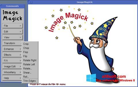 Снимка на екрана ImageMagick за Windows 8
