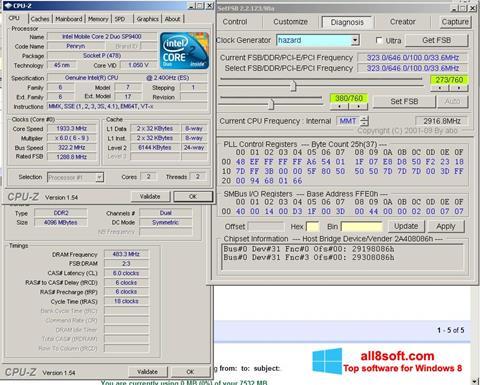 Снимка на екрана SetFSB за Windows 8