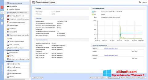 Снимка на екрана Kerio Control за Windows 8