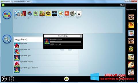 Снимка на екрана BlueStacks за Windows 8