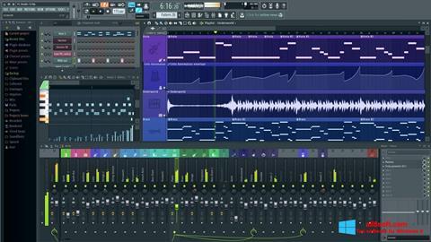 Снимка на екрана FL Studio за Windows 8