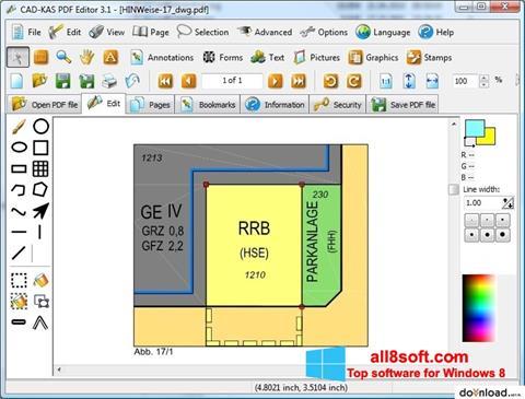 Снимка на екрана PDF Reader за Windows 8