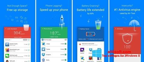 Снимка на екрана Clean Master за Windows 8