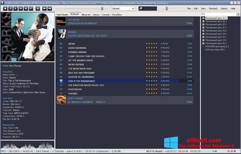 Снимка на екрана Foobar2000 за Windows 8